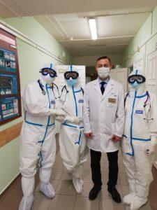 Открытие инфекционного отделения